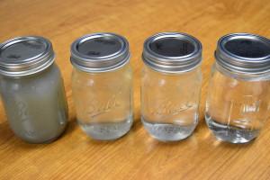 Laundry Sample Jars